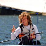 Andrés Ducasse marcha segundo en la categoría sunfish del velerismo panamericano