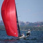 Arantza y Begona Gumucio finalizaron quintas en el velerismo panamericano
