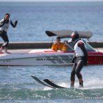 Rodrigo y Felipe Miranda se suben al podio del salto en el esquí náutico panamericano