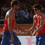 Los primos Grimalt no lograron seguir avanzando en el Mundial de Volleyball Playa