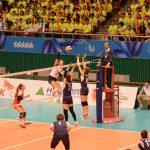 Volleyball femenino nacional suma su primera victoria en cuarta jornada de la Universiada