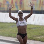 Erika Olivera aseguró su clasificación a los Juegos Olímpicos 2016