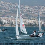 """""""Santander"""" clasificó a la Medal Race del Mundial Junior de Veleros 470"""