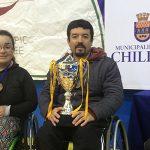Seleccionados nacionales destacaron en nacional de tenis de mesa paralímpico en Chillán