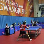 Tenis de mesa debutó con dos triunfos y dos derrotas en las Universiadas