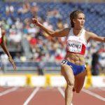 Isidora Jiménez no logró avanzar a la final de los 200 metros planos en Toronto