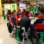 Team Chile paralímpico participó de un desayuno de despedida de cara a Toronto 2015