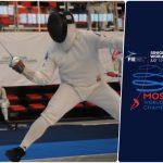 Paris Inostroza ocupó el puesto 75 en el Mundial de Esgrima