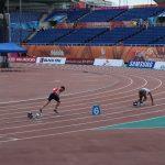 Dos chilenos avanzaron a las semifinales del atletismo en las Universiadas