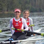 Antonia y Melita Abraham avanzaron a la final de la Copa del Mundo Adulto de Remo