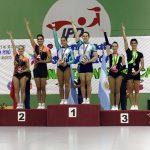 Chile logró el tercer lugar en el Sudamericano de Gimnasia Aeróbica