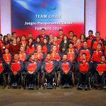Team Chile Paralímpico fue recibido en La Moneda