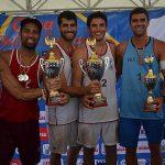 Los primos Grimalt se coronaron campeones en la final del Circuito Sudamericano de Volleyball Playa