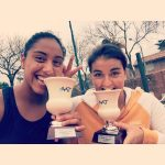 Fernada Brito y Daniela Seguel se coronaron campeonas de dobles del ITF de Buenos Aires