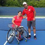 Francisca Mardones avanzó a semifinales del tenis en los Juegos Parapanamericanos
