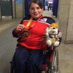 Pesista Camila Campos entregó una nueva medalla para Chile en los Juegos Parapanamericanos