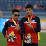 Cristián Valenzuela logró una nueva medalla de bronce en los Juegos Parapanamericanos