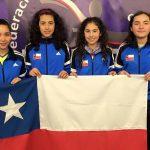 Chile ganó medalla de plata en el Sudamericano Sub 11 y 13 de Tenis de Mesa