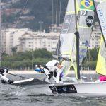 Equipo Grez marcha en el puesto 13 de la Semana Internacional de la Vela en Brasil