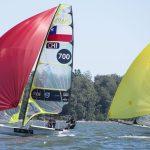 Equipo Grez terminó en el puesto 15 de la Semana Internacional de la Vela en Brasil