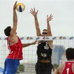 Los primos Grimalt cayeron en la Ronda 1 del Long Beach Grand Slam de Volleyball Playa