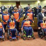 Team Chile Paralímpico fue recibido en el Congreso Nacional