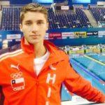 Matías Pinto debutó en el Mundial Juvenil de Natación