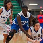 Chile cayó ante Cuba en el Preolímpico de Básquetbol Femenino