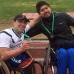 Nacional de Atletismo Paralímpico marcó el debut de 17 deportistas