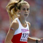Isidora Jiménez remató quinta en su serie de 200 metros planos en el Mundial de Atletismo