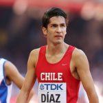 Carlos Díaz y Fernanda Mackenna logran nuevos records chilenos de atletismo indoor