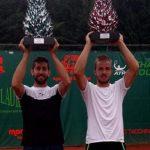 Hans Podlipnik se coronó campeón de dobles en el Challenger de Biella