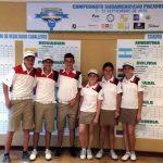 Chile mejora posiciones en el Sudamericano Pre-Juvenil de Golf
