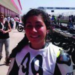Isis Carreño se coronó campeona panamericana de velocidad