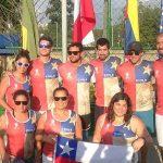 Selección Chilena de Tenis Playa finalizó su participación en el Panamericano de Brasil