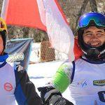 Esquiadores paralímpicos nacionales destacan en torneo argentino