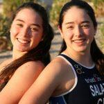 Catalina y Macarena Salazar alistan su presentación en el Mundial de Triatlón
