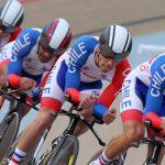 Chile ganó medalla de bronce en persecución por equipos del Panamericano de Ciclismo