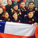 Chile debutó goleando en el Mundial de Fútbol Calle 2015