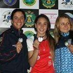 Javiera Rosas se coronó campeona sudamericana junior y senior de Pentatlón Moderno