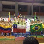 Chile se coronó campeón sudamericano junior de Gimnasia Rítmica