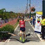 Carlos Díaz se coronó campeón del Sudamericano de Milla 2015