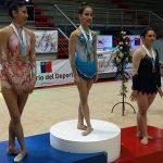 Región Metropolitana y Bío Bío brillaron en finales de gimnasia rítmica en los Juegos Nacionales
