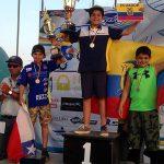 Benjamín Garib logró medalla de plata en la Copa Latinoamericana de Minicross