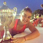 Fernanda Brito se coronó campeona del ITF Santa Cruz