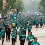 Más de 12000 personas participaron en la Corrida Santiago Corre Consalud