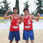 Los Grimalt avanzan a las semifinales de la fecha peruana del Circuito Sudamericano de Volleyball Playa