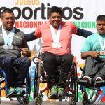 Con las pruebas de lanzamiento finalizó el atletismo en los Juegos Paranacionales