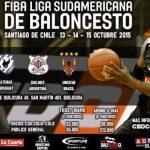 Colo Colo recibirá la Liga Sudamericana de Básquetbol en el Gimnasio Municipal de Quilicura