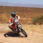 Pablo Quintanilla subió al tercer lugar en el Rally de Marruecos